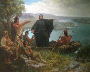 Le père Jacques Marquette (1637-1675) et les Indiens