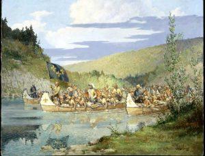 La Vérendrye explore l'Ouest canadien en 1732