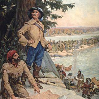 Pierre Gaultier de Varennes et de La Vérendrye au lac des Bois (actuels Ontario, Manitoba et Minesota)