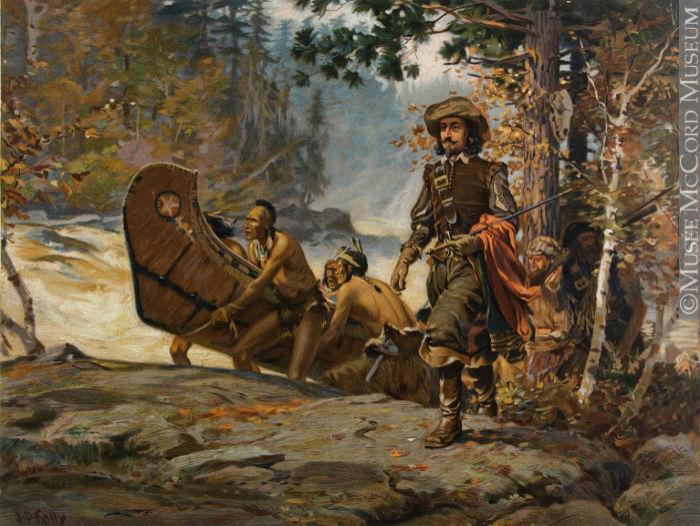 Champlain et la route des voyageurs
