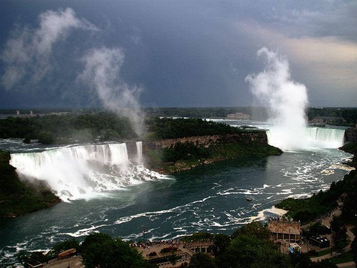 La conquête maritime des chutes du Niagara