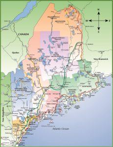 Carte du Maine (à agrandir)